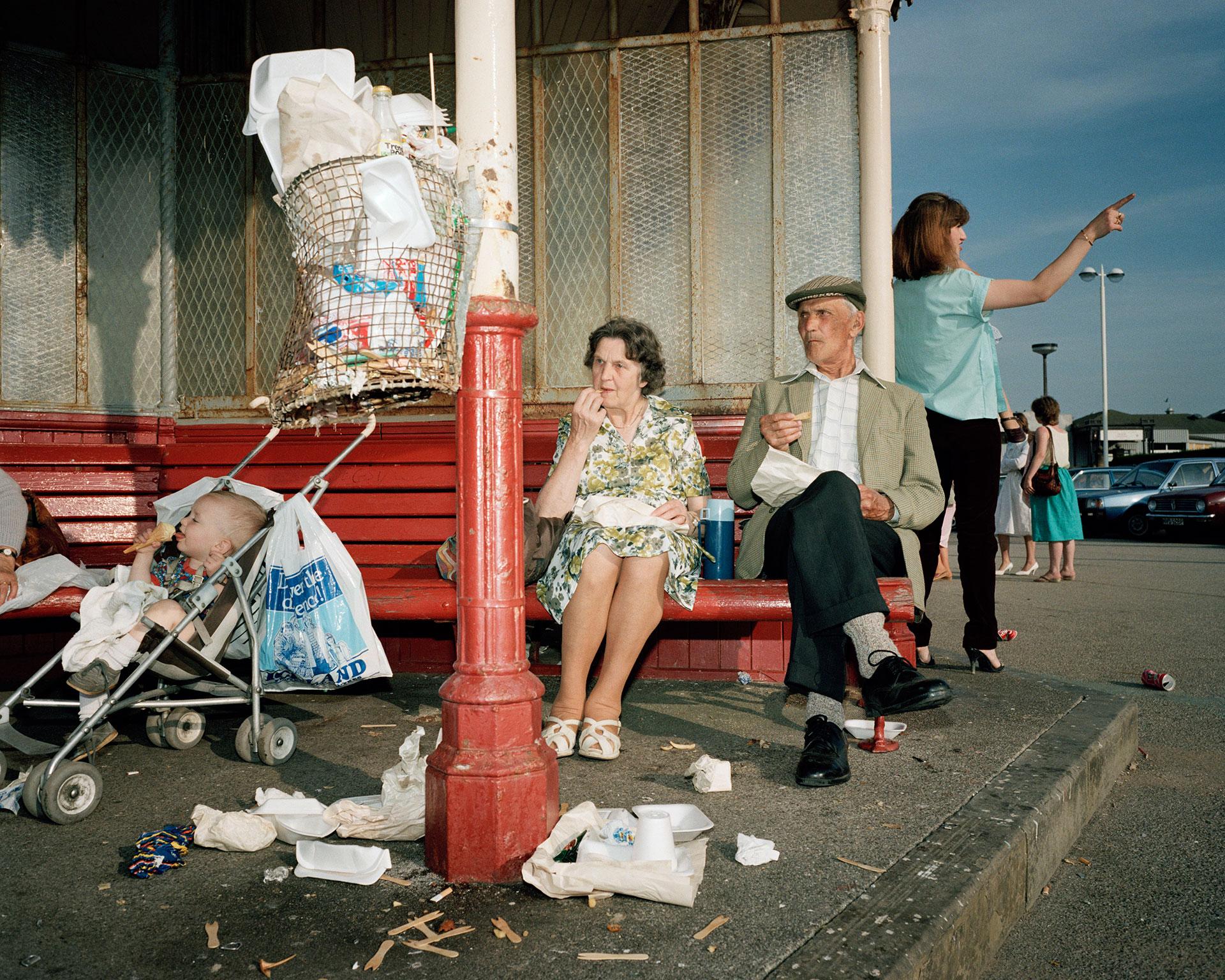 The Last Resort, New Brighton. Martin Parr.