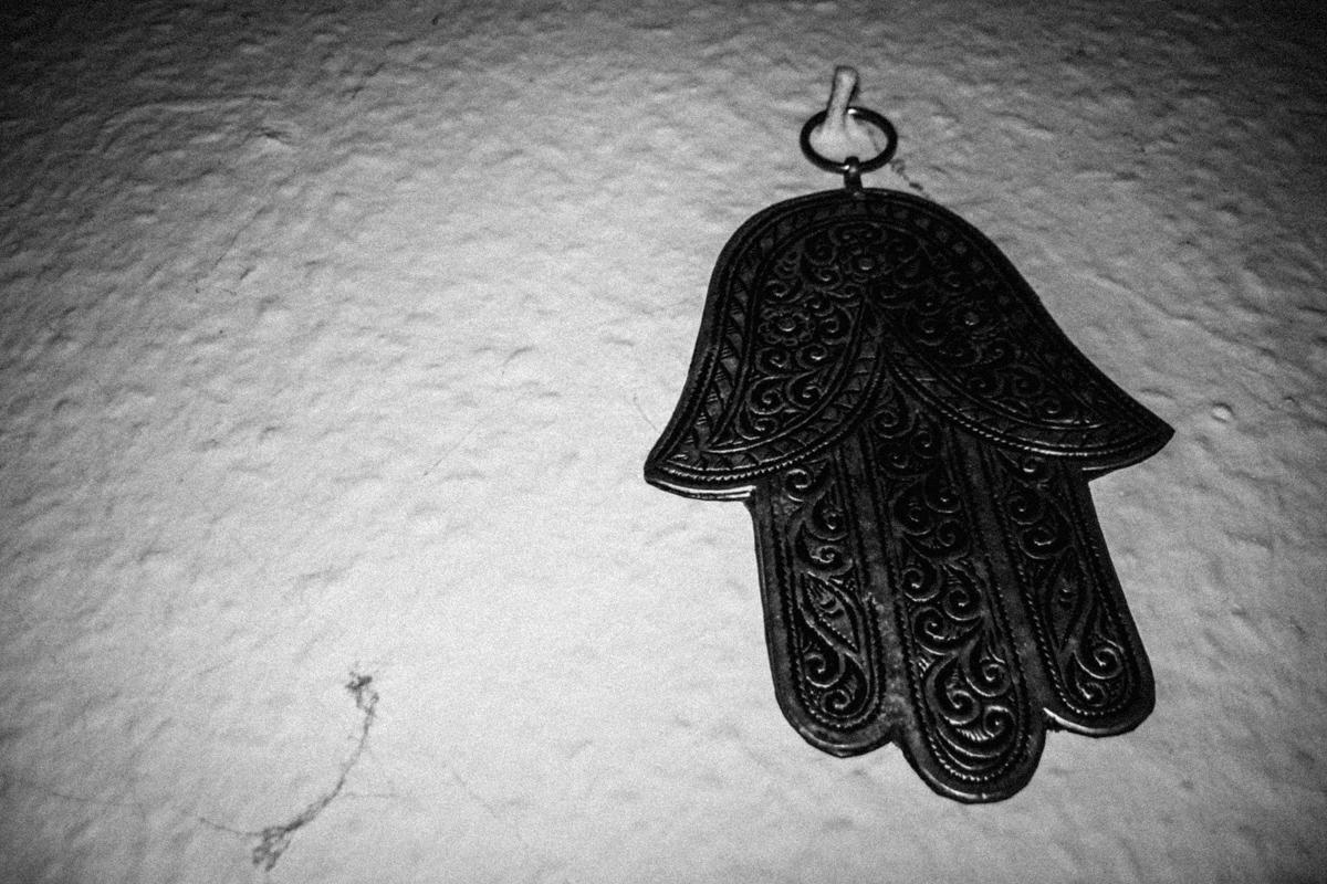 Hand of Fatima, Chester, 2016.