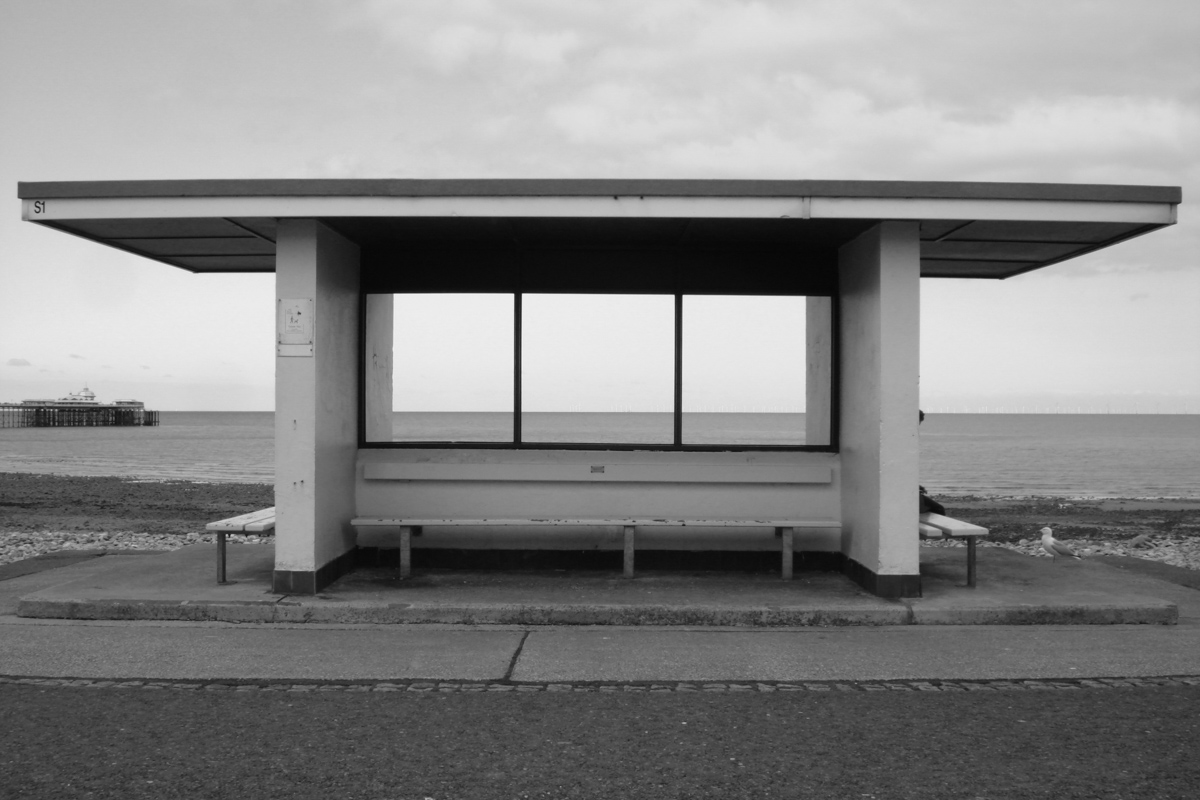 Shelter, Llandudno, 2016. Sony DSC-W100. Straight out of camera.