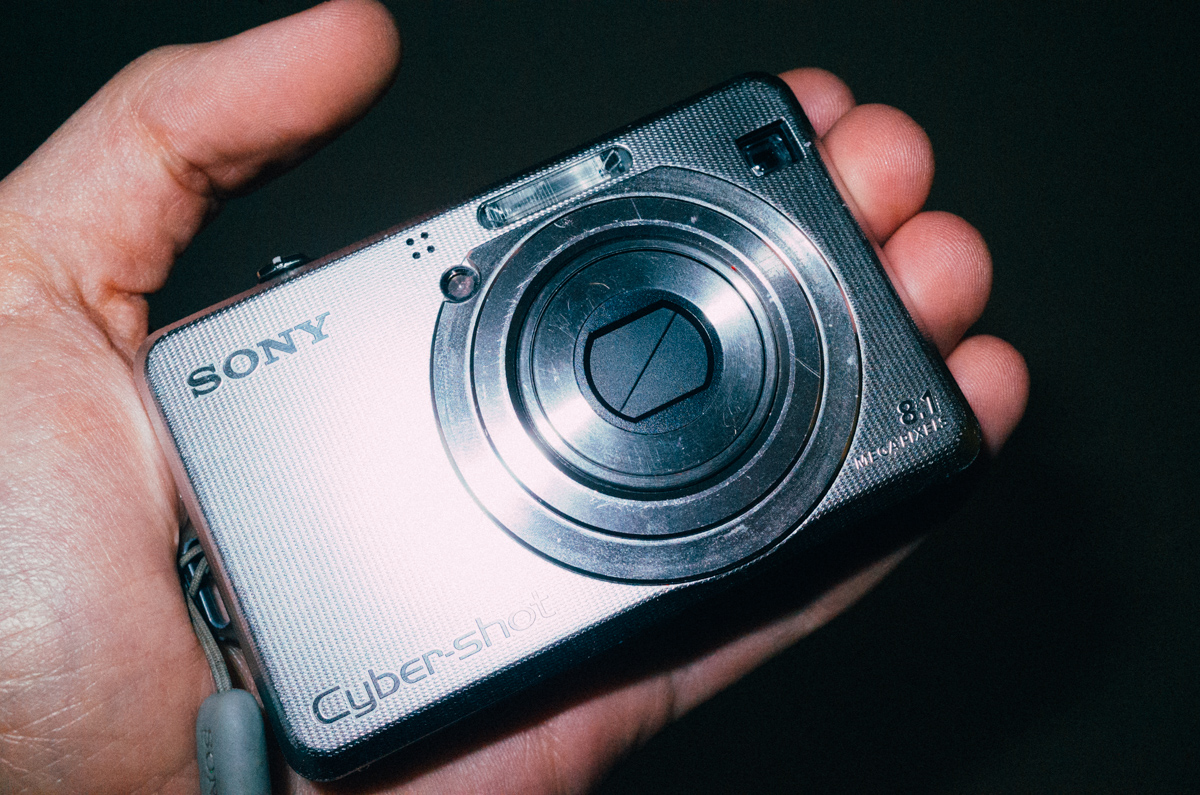 Sony DSC-W100. Photo taken with the Ricoh GR.