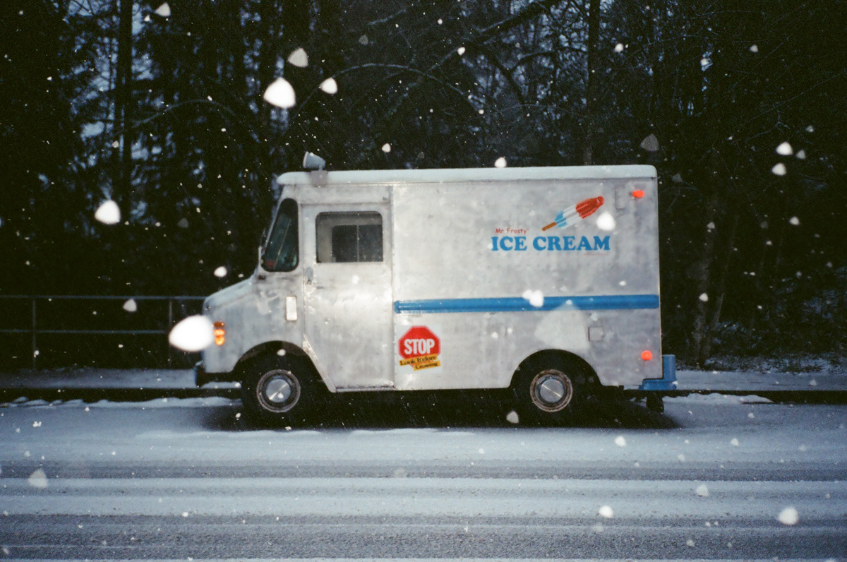 Ice Cream Van, Photo by Kelly Graham