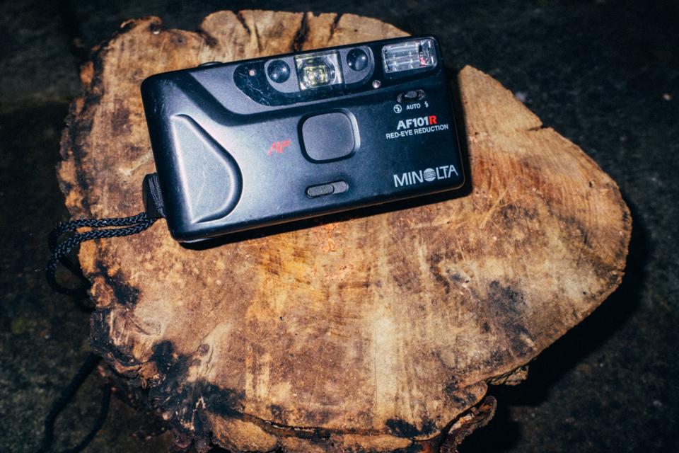Minolta AF101R Camera
