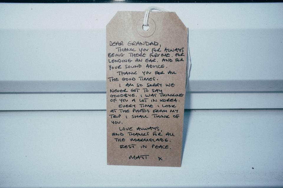 Dear Grandad, Chester