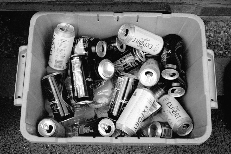 Photo of Empty Beer Cans