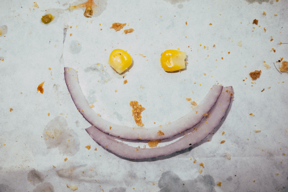 Subway Sandwich Smile - From 'All We Have Is Now'